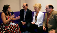 Jason Alexander and Pamela Shaw Talk Lucky Stiff at FLIFF