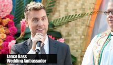 Lance Bass Leads a Mass Gay Wedding in Fort Lauderdale