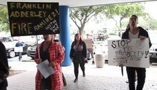Protesters Demand Action After Fort Lauderdale Cop Slaps Homeless Man
