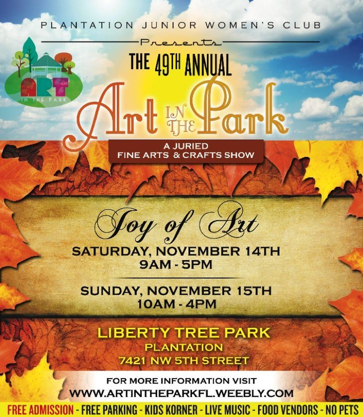 Art in the Park - Plantation