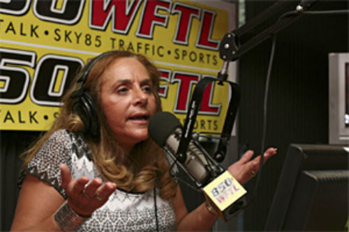 Joyce Kaufman, on the air, live and local.