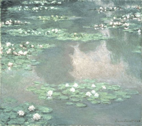 More water lilies from Monet