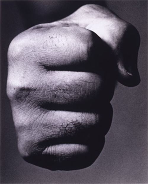 "The ""Brown Bomber""'s bomb: Joe Louis, Prize Fighter, New York City, October 3, 1963, by Richard Avedon"