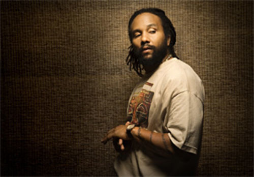 The soldier in Ky-Mani Marley is always on guard.
