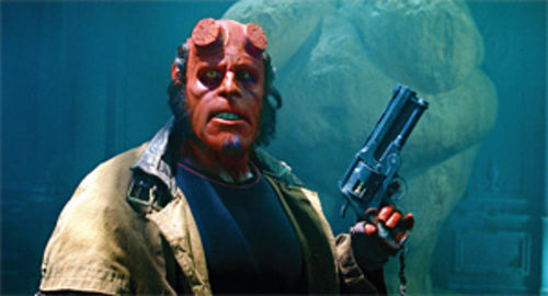 For Hellboy, it's nurture, not nature.