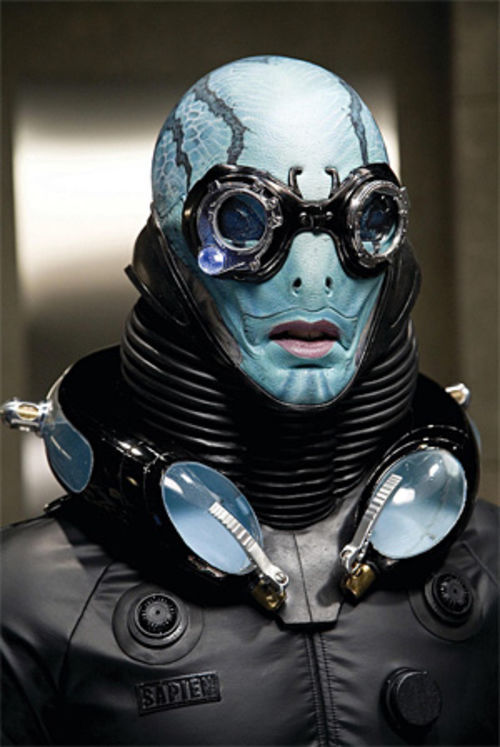 Aquatic empath Abe (Doug Jones)
