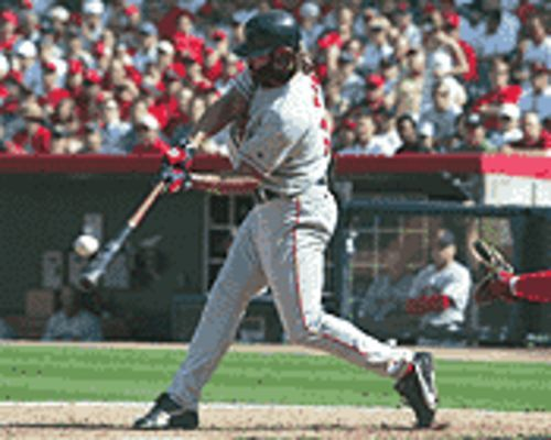 Got a thing for cavemen? Ogle Johnny Damon and the Red Sox.