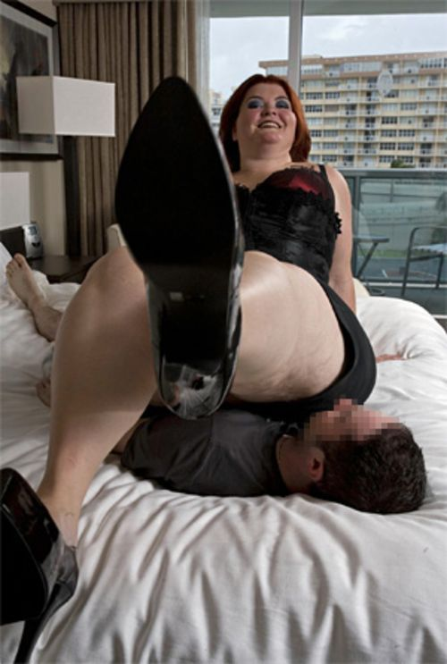 Amazon Amanda says men who are big at the office sometimes want to feel small in the bedroom.