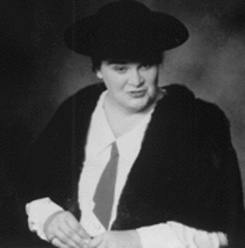 Betty Jean Steinshouer as author Willa Cather