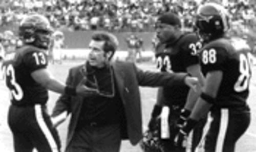 Are you ready for some football? Al Pacino, under the direction of Oliver Stone, scores.