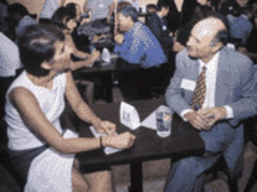 Fast talk and true love: SpeedDating gives participants a chance at both
