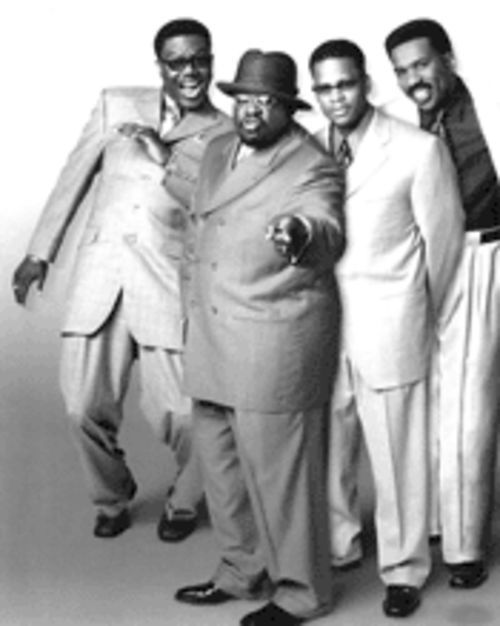 We four kings (left to right): Mac, Cedric, Hughley, and Harvey come bearing the gift of comedy