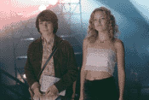True believers: William Miller (Patrick Fugit) and Penny Lane (Kate Hudson) take a tall, cool drink of Stillwater