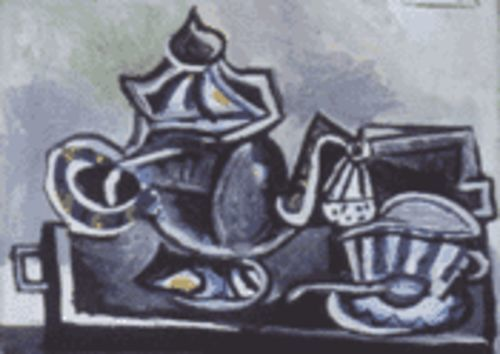 Picasso's Teapot and Cup is featured in Boca Raton