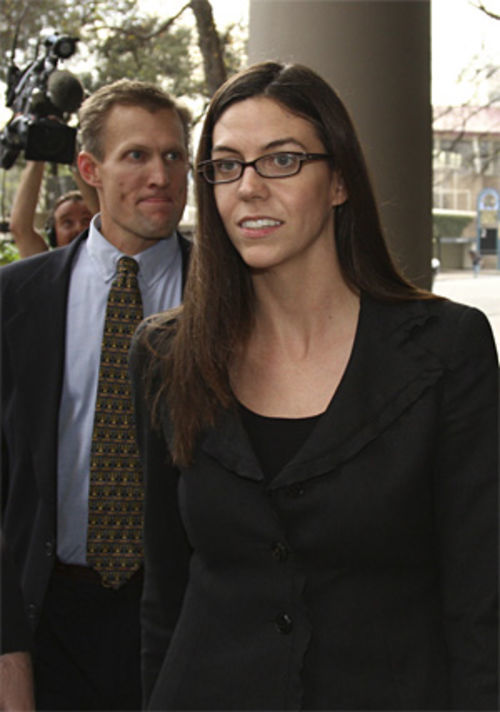 Laura Pendergest-Holt is the only Stanford exec who faces criminal charges,  for allegedly lying to SEC investigators.