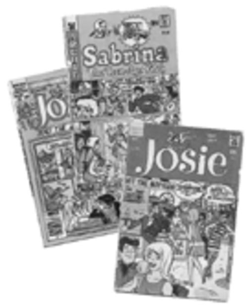 Josie, Sabrina the Teen-Age Witch, and Josie and the Pussycats are but three of the titles Dan DeCarlo worked on or created during his 43 years at Archie Comics.