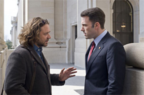 Crowe, Affleck: Um, college roommates?