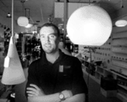 South African Gus Fabian came to Fort Lauderdale to run Lightbulbs Unlimited, the Fort Lauderdale outpost of his family's chain of specialty lighting stores