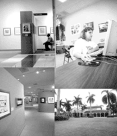 The museum is a catacomb of original drawings from Sunday strips, comic books, magazines, and editorial pages. Young visitors can try their 'toon talents on computers and drawing boards.