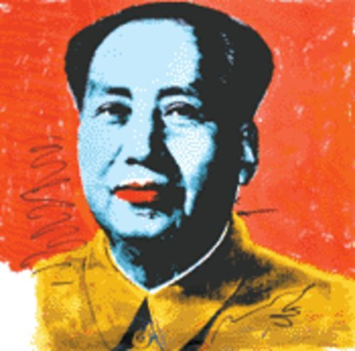 Mao (1972) was part of Andy Warhol's own cultural revolution