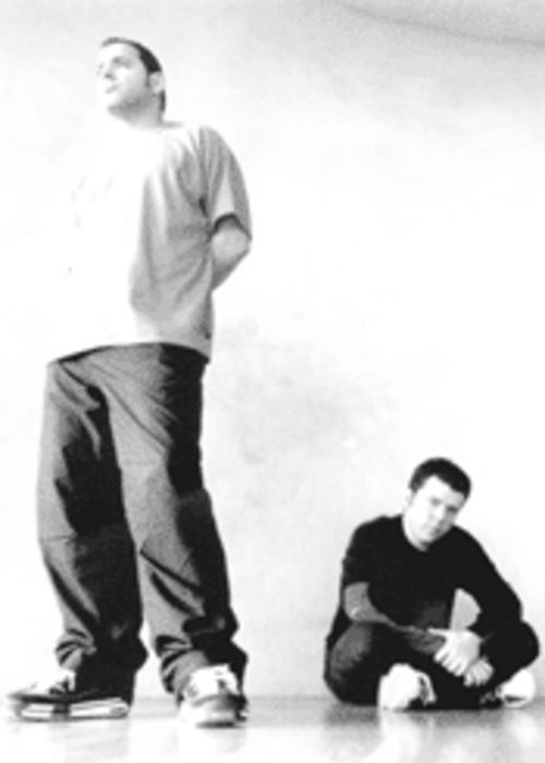 Not a guitar between 'em: techno duo the Crystal Method