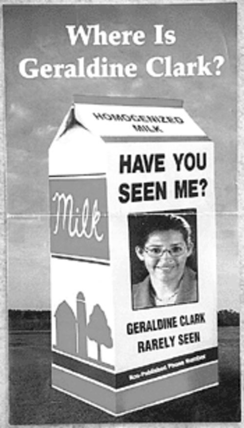 The milk-carton attack ad