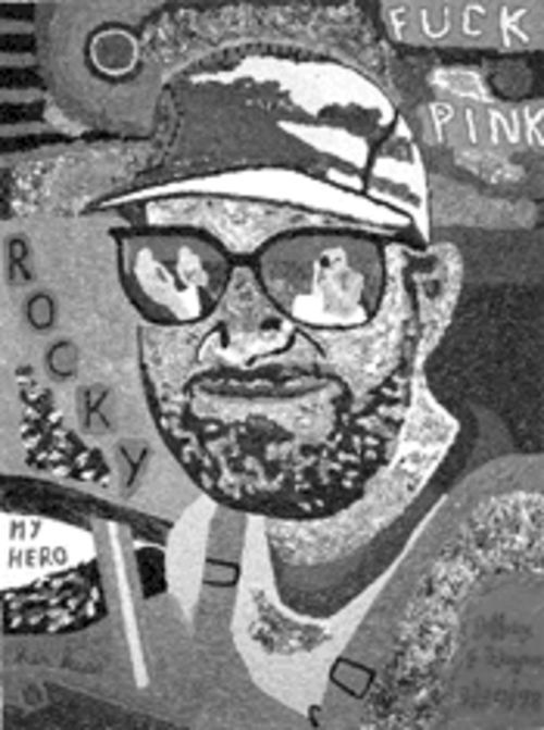 Pretty in pink: Jeff Gaynor's Rocky