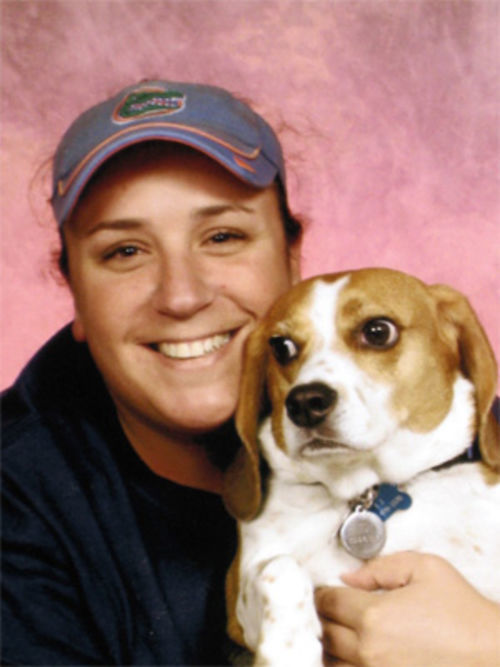 Tatiana Furry treated her beagle TJ like a son, says her mom Helene.