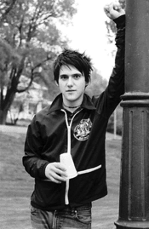 Conor Oberst of Bright Eyes, ten years into a music career at age 22