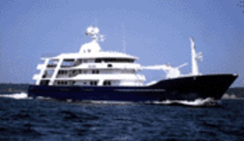 This 206-foot behemoth is the largest yacht  at the show � and, at $25 million, one of the most expensive