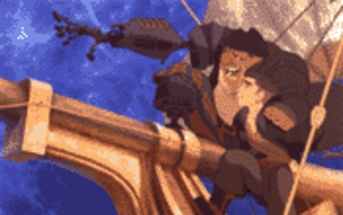 From black spot to black hole: John Silver and Jim Hawkins in The Future