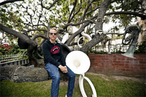 The Tuba Tree was started by Josh Freese's father, Stan Freese, 18 years ago in the front yard of his house in Placentia, California.