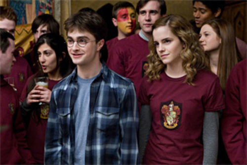 While BFFs Harry (Daniel Radcliffe) and Hermione (Emma Watson) have more death-defying adventures.