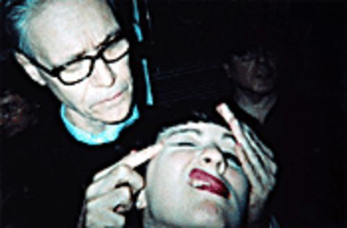 "Terra gets a ""massage"" from the Rev. Kim Fowley."