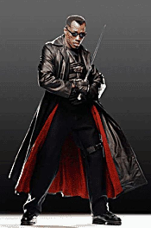 Wesley Snipes stars in the dorky Blade: Trinity.