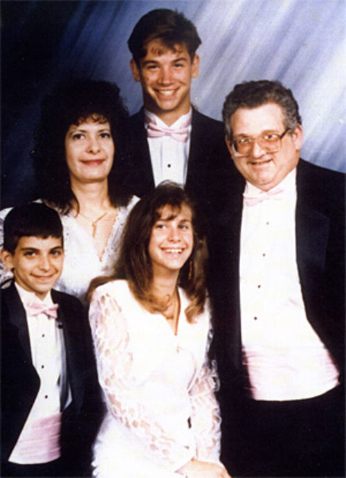 The Brody family before the accident.
