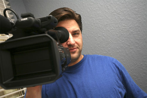 """Video vigilante"" Daniel Kerness."