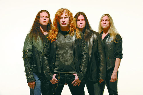 Megadeth is ready to megarock!