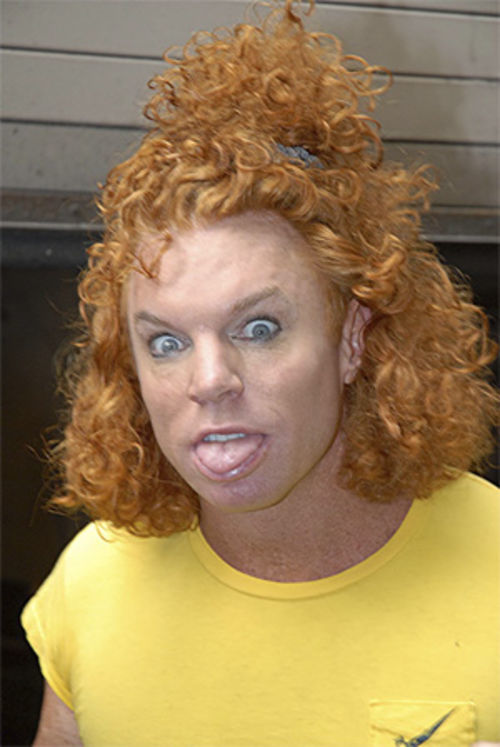 Carrot Top or Sammy Hagar?