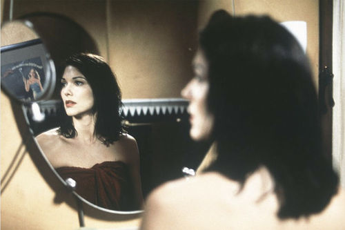 Laura Harring as Rita in Mulholland Drive.