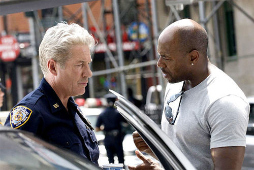 Gere gets direction from Fuqua.