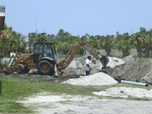 Work on Dania Beach Boulevard worries residents.