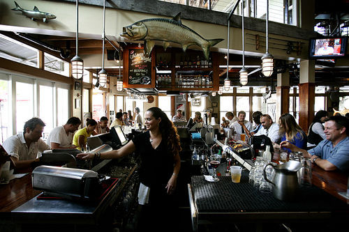 Tarpon Bend's happy hour is the best kind: It starts early and runs late.
