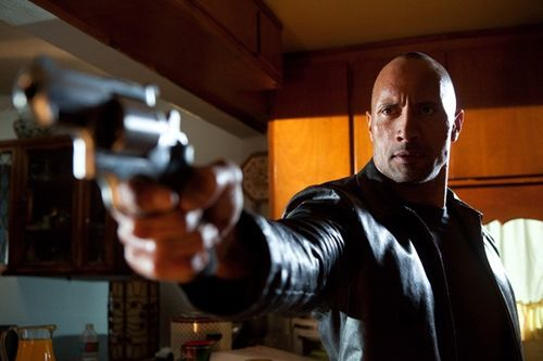 The Rock takes aim at b-movie land.