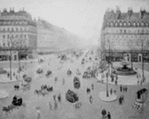 Avenue de l'Opéra, Place du Théâtre (1898), by the father of it all