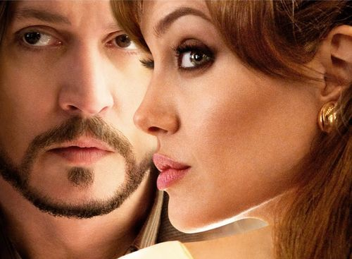 Depp: too close to Jolie.