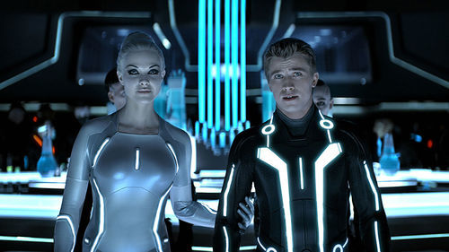 Beau Garrett and Garrett Hedlund will Tron you.