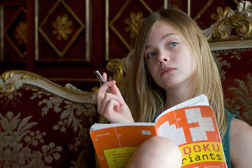 Elle Fanning often outshines her lead.
