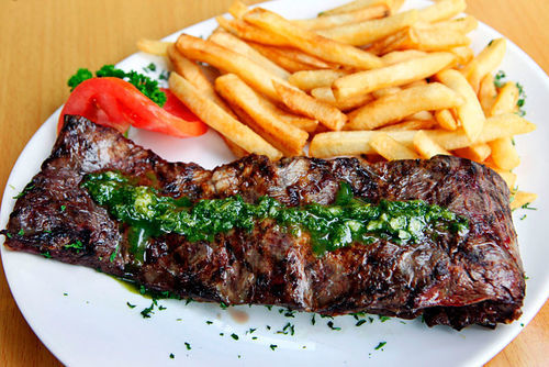 Chimichurri makes everything taste better.