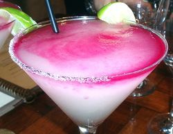 Prickly Pear Margarita at Canyon Southwestern Cafe